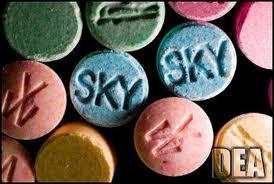 Ecstasy, a segunda droga mais usada em Londres